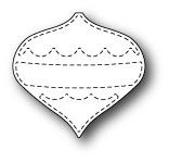 Stitched Oakley Ornament - Memory Box