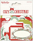 Cozy Christmas Gift Tags - My Minds Eye