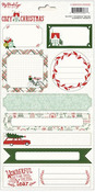 Cozy Christmas Labels - My Minds Eye
