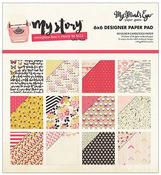 My Story 6 x 6 Paper Pad - My Minds Eye