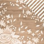 Ivory Inlay Paper - DIY Home - Pebbles