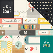 """Brave - Wonder Double-Sided Cardstock 12""""X12"""""""