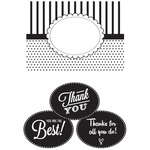 "Thank You - CGull Interchangeable Embossing Folder 4.5""X6.5"""