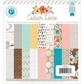 Cedar Lane 6 x 6 Paper Pad - Pink Paislee