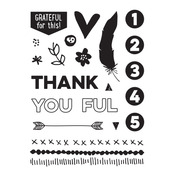 Thankful Clear Stamps - Elles Studio