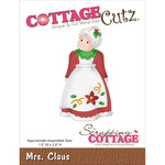 "Mrs. Claus 1.6""X2.8"" - CottageCutz Die"