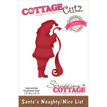 "Santa's Naughty/Nice List 1.9""X3.5"" - CottageCutz Elites Die"
