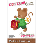 "Wind Up Mouse Toy 2.4""X2.5"" - CottageCutz Die"