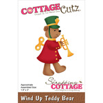 "Wind Up Teddy Bear 1.9""X3"" - CottageCutz Die"