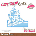 "Wintery Trees 3.4""X3.5"" - CottageCutz Elites Die"