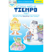 What Is The Weather? - Creative Teaching Materials Spanish-English Book W/CD