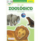 At The Zoo - Creative Teaching Materials Spanish-English Book W/CD