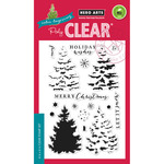 "Color Layering Christmas Tree - Hero Arts Clear Stamps 4""X6"""