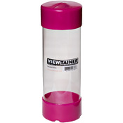 "Raspberry - Viewtainer Slit Top Storage Container 2.75""X8"""