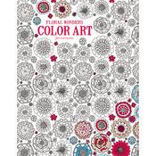 Floral Wonders Color Art - Leisure Arts