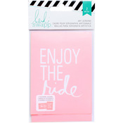 "Enjoy The Ride - Heidi Swapp Mixed Media Art Screens Stencils 3""X4"" 2/Pkg"