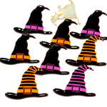 Witch Hats - Eyelet Outlet Shape Brads 12/Pkg