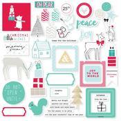 Christmas Wishes Cardstock Die-cuts - Pinkfresh