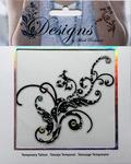 Jeweled Fancy Filigree Temporary Tattoo - Mark Richards