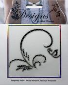 Splash Jeweled Temporary Tattoo - Mark Richards