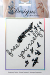 Free Yourself Jeweled Temporary Tattoo - Mark Richards