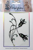 Tulips Jeweled Temporary Tattoo - Mark Richards