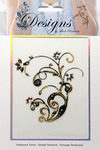 Gold Petite Jeweled Temporary Tattoo - Mark Richards