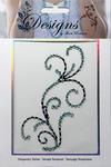 Dotted Filigree Jeweled Temporary Tattoo - Mark Richards
