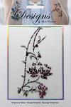 Magenta Lotus Jeweled Temporary Tattoo - Mark Richards