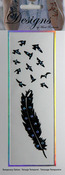 Birds Of A Feather Jeweled Temporary Tattoo - Mark Richards