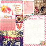 February Paper - Calendar Girl - Bo Bunny