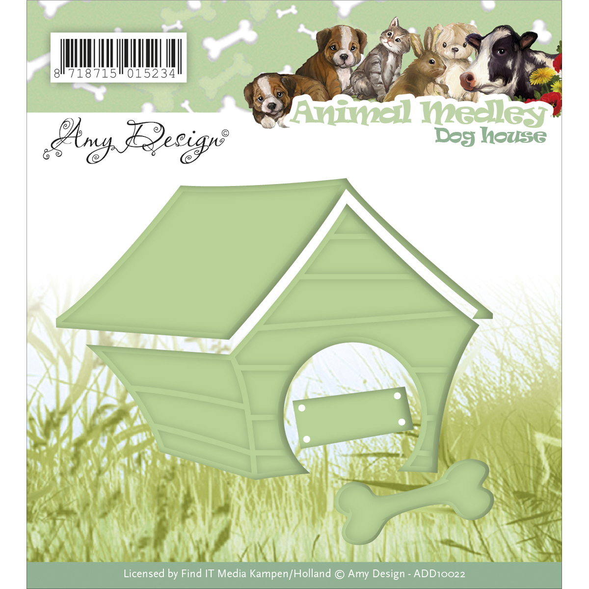 Dog House - Find It Trading Amy Design Animal Medley Die