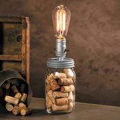 8' Cord - Canning Lid W/Lamp Socket
