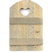 """Wood - Micro Mini Garden Door 2.5""""X1.875"""""""