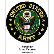 "10.25""x12.75"" 14 Count - U.S. Army Emblem Counted Cross Stitch Kit"