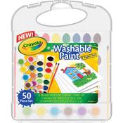 Crayola Washable Paint & Paper Set