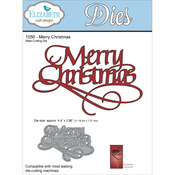 Merry Christmas - Quietfire Wafer Thin Metal Die