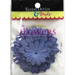 Purple - Eyelet Outlet Flowers 40/Pkg