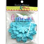 Blue311 - Eyelet Outlet Flowers 40/Pkg