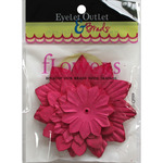 Pink225 - Eyelet Outlet Flowers 40/Pkg