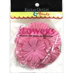 Pink230 - Eyelet Outlet Flowers 40/Pkg