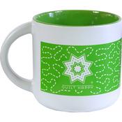 Lime - Quilt Happy Meandering Mug 14oz