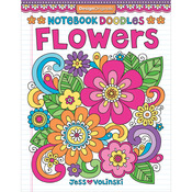 Notebook Doodles Flowers - Design Originals