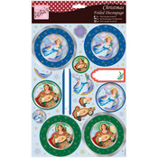 Pair Of Angels - Anita's A4 Foiled Decoupage Sheet