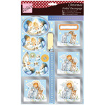 Cute Angel - Anita's A4 Foiled Decoupage Sheet