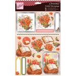 Bible & Flowers - Anita's A4 Foiled Decoupage Sheet