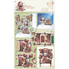 Chair - Wellington Christmas A4 Decoupage Pack Docrafts-Wellington Christmas A4 Decoupage Pack: Chair. The ideal addition to your cards, scrapbooks and more! This package contains four 11-3/4x8-1/4 inch die-cut decoupage sheets in two different designs (two of each) and four 11-3/4x8-1/4 inch papers in two different designs (two of each). Non-toxic. Acid and lignin free. Imported.