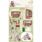 Snowman - Wellington Christmas A4 Decoupage Pack