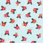 Poinsettia Paper - Wish Season - Fancy Pants