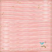 Holiday Stripes Paper - Wish Season - Fancy Pants